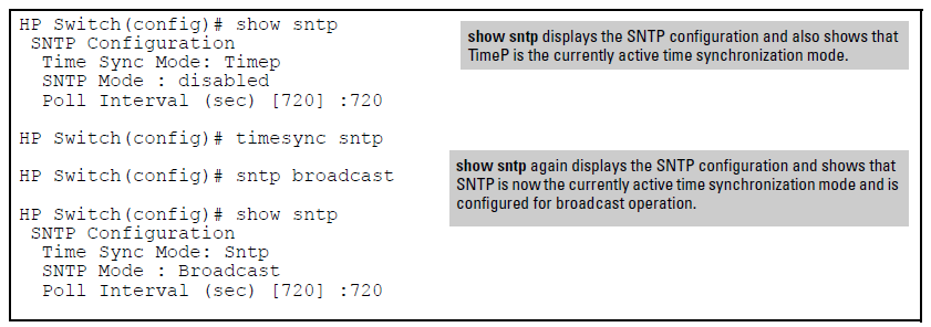 Enabling and disabling time synchronization protocols