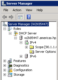 Configure AirWave details in DHCP (preferred method)