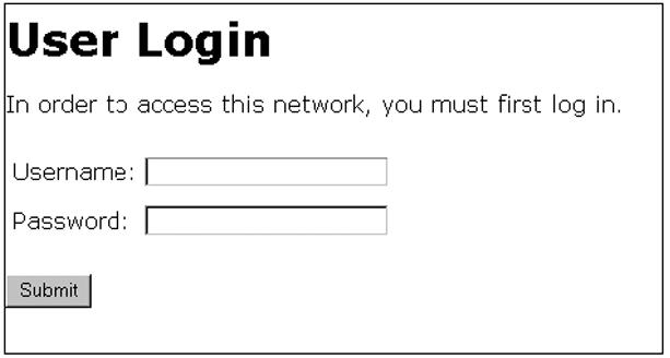 Customizing web-authentication HTML files (optional)