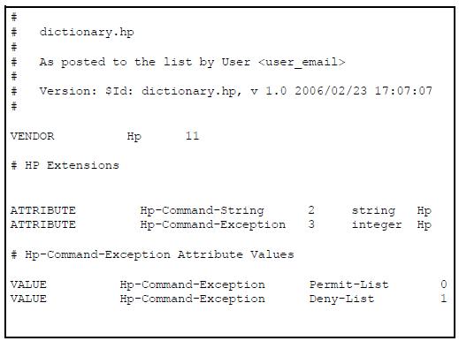 Commands authorization