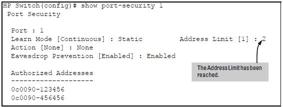 Port security